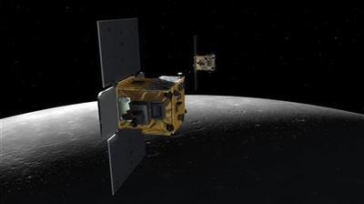 NASA crashes two probes into a mountain on the moon