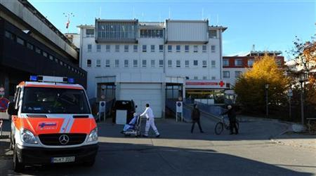 General view of the hospital Klinikum rechts der Isar in Munich, November 3, 2011. REUTERS/Guido Krzikowski (GERMANY - Tags: SPORT SOCCER HEALTH)