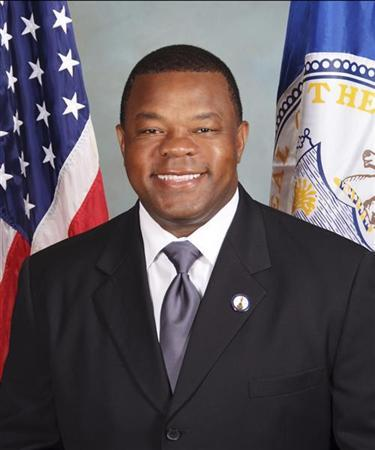 City of Trenton Mayor Tony Mack is pictured in this government undated handout photo. REUTERS/City of Trenton/Handout