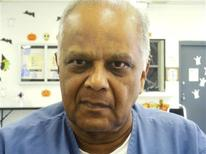 Krishna Maharaj sits for an interview in Miami Dade county jail in Miami, Florida, October 15, 2012. Lawyers for Maharaj, a British man serving two life sentences in Florida for a 1986 double homicide, filed an appeal on December 20, 2012, seeking to have the conviction overturned based on an affidavit alleging that Miami police officers framed an innocent man.REUTERS/David Adams