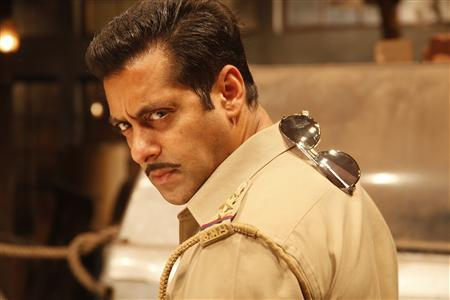 Photo of actor Salman Khan from his latest movie ''Dabangg 2'' directed by Arbaaz Khan
