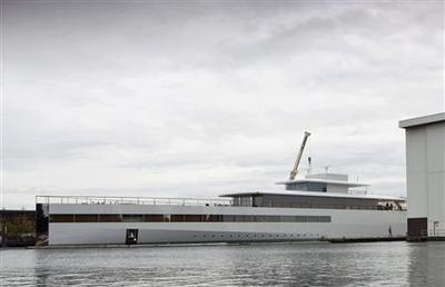 Steve Jobs superyacht impounded over unpaid Starck designer bill