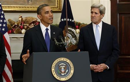 Obama nominates John Kerry as next secretary of state