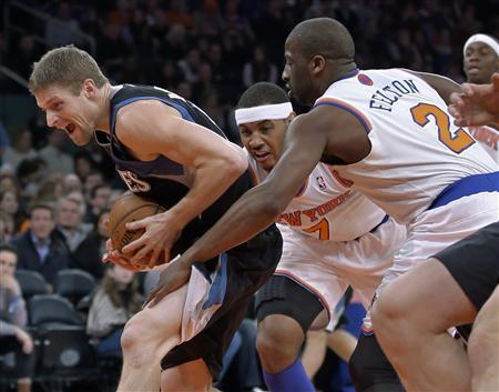 Anthony leads Knicks over Timberwolves
