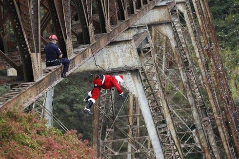 Daredevil Santa