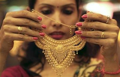Gold demand in India firm as jewellers stock up