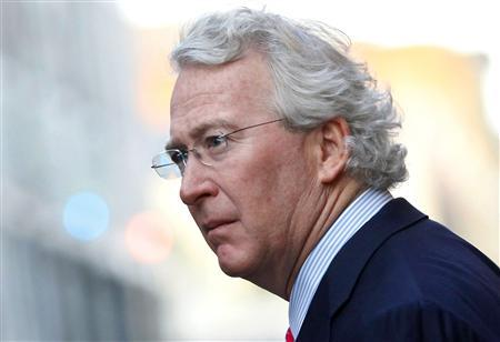 Chief Executive Officer, Chairman, and Co-founder of Chesapeake Energy Corporation Aubrey McClendon walks through the French Quarter in New Orleans, Louisiana in this file photo taken March 26, 2012. McClendon, 53, endured a trying year running the second-largest natural gas producer in the United States, Chesapeake Energy Corp. But as corporate, state and federal probes into McClendon and the company continue, 2013 isn't looking much easier. REUTERS/Sean Gardner/Files