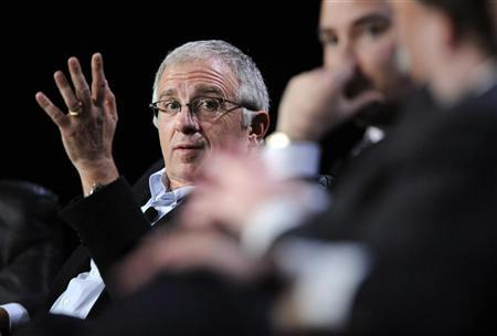 Irving Azoff, Executive Chairman of Live Nation, participates in the ''The Business Behind the Show: Outlook for the Entertainment Industry'' panel at the 2010 Milken Institute Global Conference in Beverly Hills, California April 28, 2010. REUTERS/Phil McCarten
