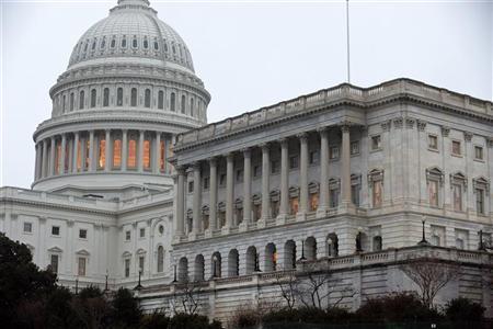The U.S. Capitol Building stands in Washington December 17, 2012. REUTERS/Joshua Roberts