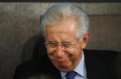 Il presidente del Consiglio Mario Monti REUTERS/Alessandro Bianchi