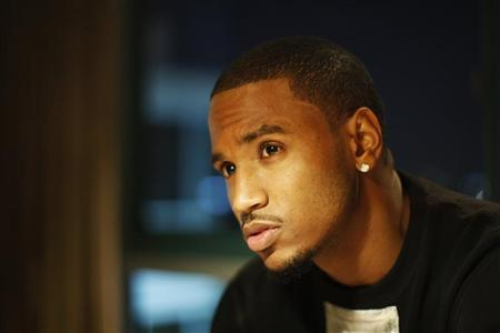 Singer, rapper and actor Tremaine ''Trey Songz'' Neverson poses in Los Angeles, California, December 18, 2012. Trey Songz stars in the upcoming movie, Texas Chainsaw 3D, a remake of The Texas Chainsaw Massacre which is set to open nationwide on January 4, 2013. REUTERS/David McNew