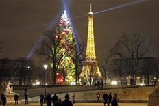 Les Français ont dépensé environ neuf milliards d'euros pour les achats de Noël sur internet, un chiffre qui incite le ministre délégué à la Consommation, Benoît Hamon, à envisager un renforcement de la réglementation. /Photo prise le 18 décembre 2012/REUTERS/Charles Platiau