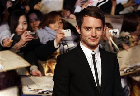 Cast member Elijah Wood attends the Japan premiere of the movie ''The Hobbit - An Unexpected Journey'' in Tokyo December 1, 2012. REUTERS/Issei Kato