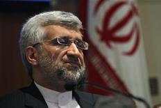 Negociador Saeed Jalili afirmou que Irã aceita negociar com seis potências mundiais sobre programa nuclear. 04/01/2013 REUTERS/Mansi Thapliyal