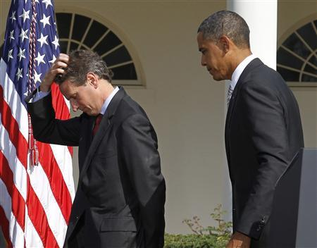 Analysis: Geithner's planned departure puts Obama in tough spot