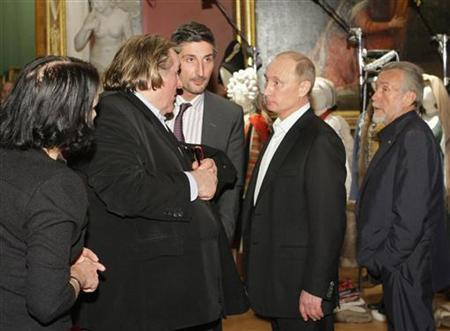 French actor Depardieu in Russia to meet Putin