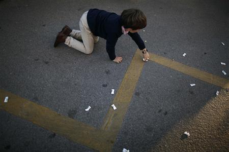 Boy killed at holiday parade in southern Spain