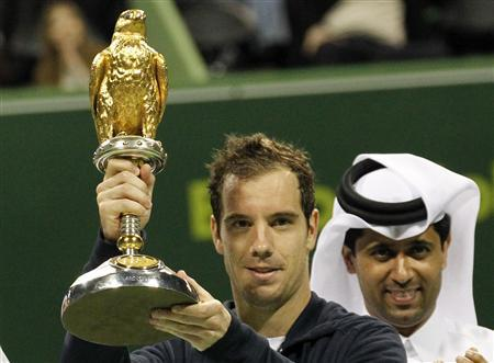 Gasquet beats Davydenko in Doha final