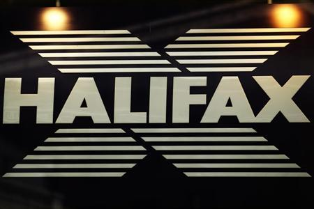 Signage for Halifax bank in London February 14, 2012. REUTERS/Luke MacGregor