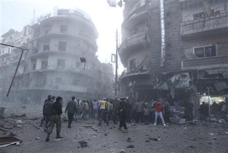 Syrians brush off Assad speech as fighting rages