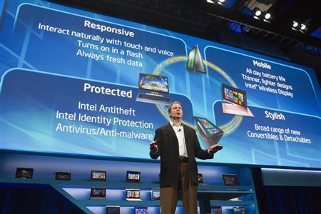 Intel bets big on thin PCs and phones at Las Vegas...