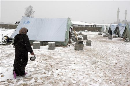Winter storm brings devastation to Syria and neighbors