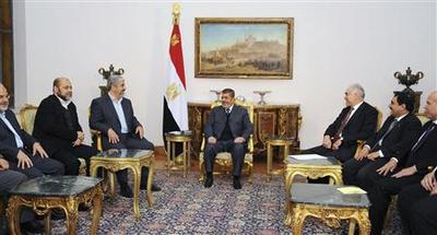 No sign of progress as Palestinian rivals meet in Egypt