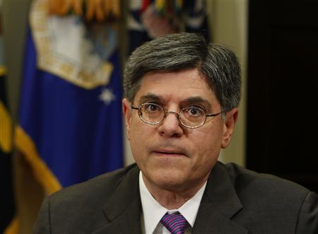 Obama to nominate Lew as Treasury chief on Thursday