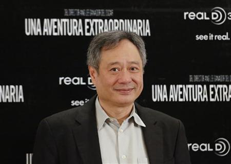 Director Ang Lee arrives for a news conference to promote his latest film ''Life of Pi'' in Mexico City December 13, 2012. REUTERS/Bernardo Montoya/Files
