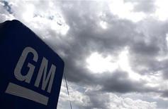 General Motors va ouvrir un troisième pôle technologique et informatique aux Etats-Unis et y emploiera environ 1.000 personnes, dans le cadre de sa stratégie de réintégration de ce type de services pour améliorer son efficacité et sa productivité. /Photo d'archives/REUTERS/Carlos Barria