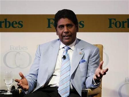 United States Vijay Amritraj Foundation Founder Vijay Amritraj speaks during Forbes Global CEO Conference in Kuala Lumpur September 14, 2011. REUTERS/Bazuki Muhammad/Files