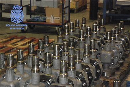 Spain seizes valves bound for Iran's nuclear...