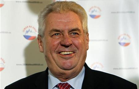 Former PM to square off with prince for Czech presidency