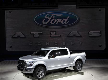 Ford gives peek at fuel-economy push with F-150 concept