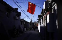 Les investissements directs étrangers en Chine ont baissé en 2012 pour la première fois en trois ans, accusant un recul de 4% dans un contexte de ralentissement de la croissance mondiale. /Photo prise le 13 novembre 2012/REUTERS/David Gray
