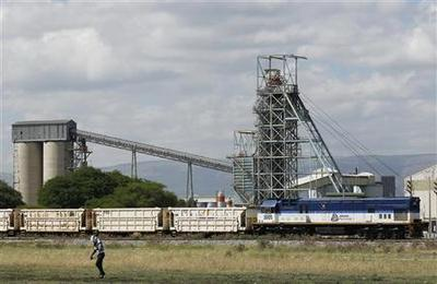 Workers down tools at South Africa's Amplats