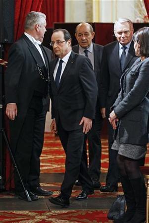 REUTERS/Remy de la Mauviniere/Pool (FRANCE - Tags: POLITICS)