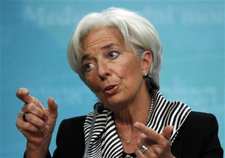 IMF chief urges big world economies to promote growth