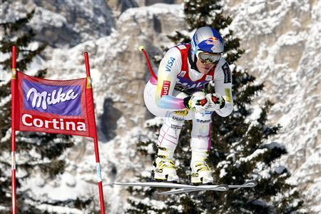 Alpine skiing: Vonn back on top in Cortina