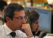 Un trader. REUTERS/Jose Manuel Ribeiro