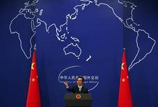 Porta-voz do Ministério das Relações Exteriores chinês pediu cautela ante ameaça da Coreia do Norte de realizar testes nucleares. 07/11/2011 REUTERS/David Gray