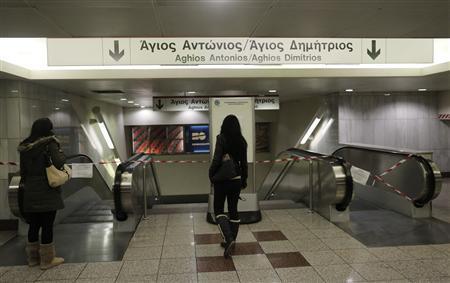 Greece orders striking subway workers back to work