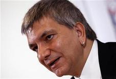Il leader di Sel, Nichi Vendola. REUTERS/Tony Gentile