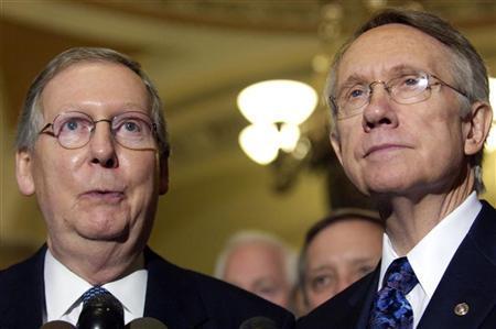 Senate leaders reach deal aimed at easing gridlock