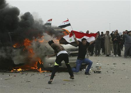 Iraq troops kill four in clashes with Sunni protesters