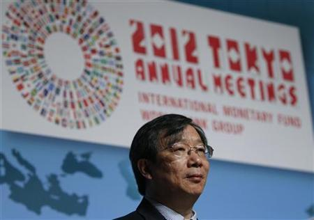 People's Bank of China Deputy Governor Yi Gang attends a program of seminars at the Annual Meetings of the IMF and the World Bank Group in Tokyo October 14, 2012. REUTERS/Issei Kato/Files