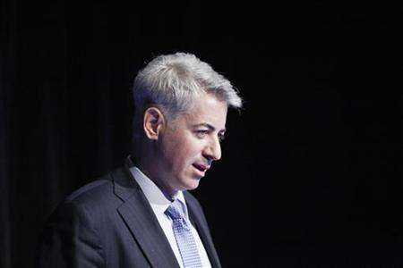 Founder and Chief Executive Officer of Pershing Square Capital Management LP Bill Ackman speaks during the Sohn Investment Conference in New York, May 16, 2012. REUTERS/Eduardo Munoz
