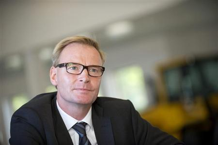AB Volvo President and Chief Executive Olof Persson is pictured at the company's office in Gothenburg September 1, 2011. REUTERS/Bjorn Larsson Rosvall/Scanpix