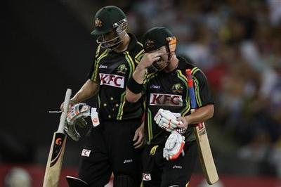 Warner knock in vain, Sri Lanka beat Australia in Sydney T20