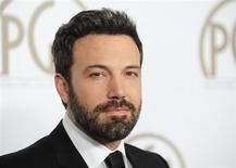 """Actor, director and producer of """"Argo"""" Ben Affleck arrives at the Producers Guild of America Awards in Beverly Hills, California January 26, 2013. REUTERS/Gus Ruelas"""